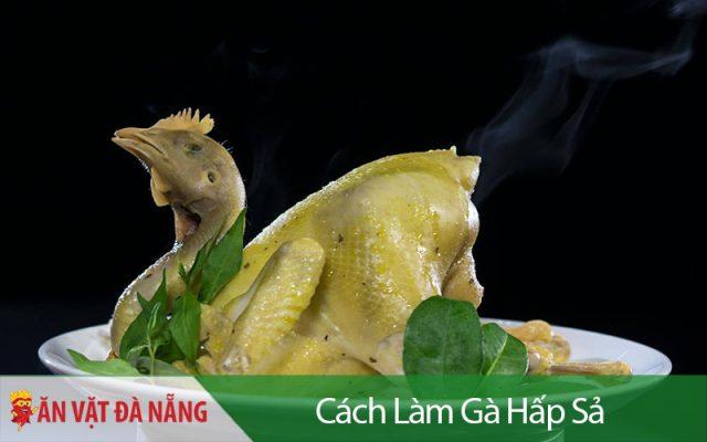 Cách làm gà hấp sả